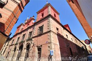 Madrid, Carlos II, Convento de las Comendadoras y Parroquia de Santiago el Mayor