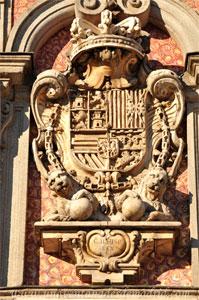 Madrid, Carlos II, Escudo de Carlos II de la Casa de la Panadería