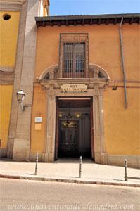 Madrid, Carlos II, Entrada al Hospital de la Enfermería de la V.O.T.
