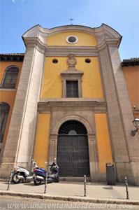 Madrid, Carlos II, Fachada de la Capilla del Hospital de la Enfermería de la V.O.T.
