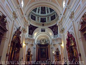Madrid, Carlos II, Interior de la Iglesia del Sacramento