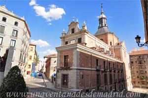 Madrid, Carlos II, Ala del Pretil de los Consejos del antiguo Convento del Sacramento