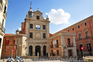 Madrid, Carlos II, Iglesia del Sacramento