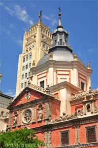 Madrid, Carlos II, Cúpula de la Iglesia de la Concepción Real de Calatrava