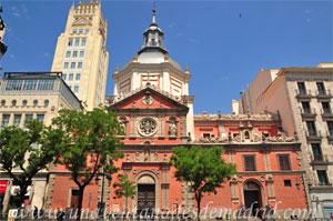 Madrid, Carlos II, Iglesia de la Concepción Real de Calatrava