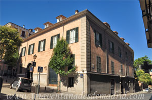 Madrid, Carlos II, Fachada principal del Palacio del Príncipe de Anglona