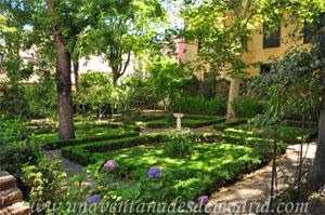Madrid, Carlos II, Jardines del Palacio del Príncipe de Anglona