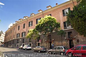 Madrid, Carlos II, Fachada Norte del Palacio del Príncipe de Anglona