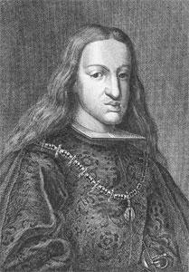 Madrid, Carlos II, Retrato de Carlos II