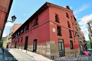 "Madrid, Felipe II, Fachada principal de ""Casa a la Malicia"""