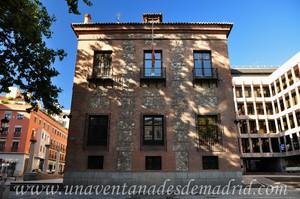 Madrid, Felipe II, Fachada Este de la Casa de las Siete Chimeneas