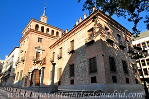 Madrid, Felipe II, Casa de las Siete Chimeneas