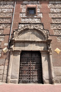 Madrid, Felipe II, Portada del antiguo palacio de Alonso Gutiérrez