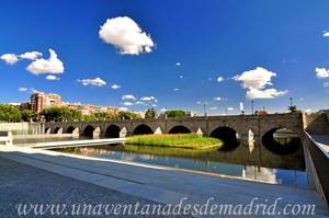 Madrid, Felipe II, Puente de Segovia visto desde su margen izquierda