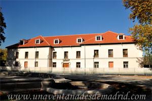 Madrid, Felipe III, Casa de Don Fadrique de Vargas en obras, foto tomada en el año 2015