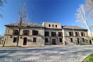 Madrid, Felipe III, Casa de Don Fadrique de Vargas en obras, foto tomada en el año 2012