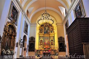 Madrid, Felipe III, Interior de la Iglesia del Monasterio de Monjas Jerónimas del Corpus Christi