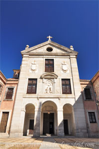Madrid, Felipe III, Fachada principal del Real Monasterio de la Encarnación