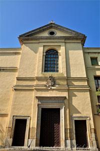 Madrid, Felipe III, Portada de la Iglesia del Real Monasterio de Agustinas Recoletas de la Visitación de Santa Isabel y Colegio de Nuestra Señora de la Asunción