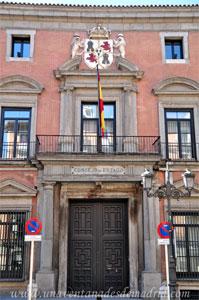 Madrid, Felipe III, Portada del Consejo de Estado en el Palacio de los Consejos