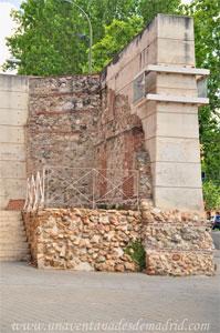 Madrid, Felipe IV, Cara interior de la Cerca de Felipe IV