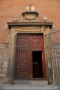 Madrid, Felipe IV, Entrada a la antecapilla de la antigua Capilla de San Isidro