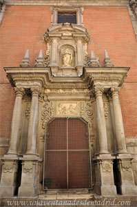 Madrid, Felipe IV, Entrada a la capilla interior de la antigua Capilla de San Isidro
