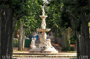 Madrid, Felipe IV, Fuente de los Tritones