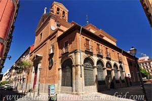 Madrid, Felipe IV, Iglesia de Nuestra Señora de las Maravillas y los Santos Justos y Pastor