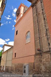 Madrid, Felipe IV, Torre y ampliación de la antigua Capilla de San Isidro levantados en el siglo XX.
