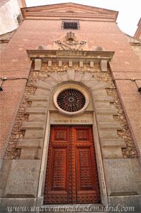 Madrid, Felipe IV, Portada Oeste de la Iglesia de San Ginés