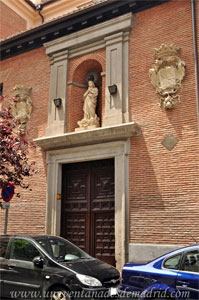 Madrid, Felipe IV, Portada del Convento de las Mercedarias Descalzas de Don Juan de Alarcón