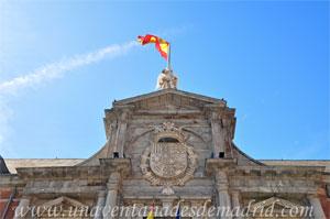 Madrid, Felipe IV, Escudo del Palacio de Santa Cruz