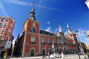 Madrid, Felipe IV, Palacio de Santa Cruz