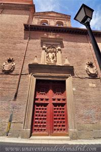 Madrid, Felipe IV, Portada de la Iglesia del Convento de las Benedictinas de San Plácido