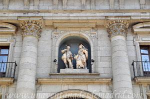 Madrid, Felipe IV, Imágenes de San Isidro y de Santa María de la Cabeza de Juan de Mena