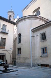 Basílica Pontificia de San Miguel, ábside de la Iglesia de San Justo