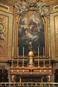 Basílica Pontificia de San Miguel, Altar Mayor