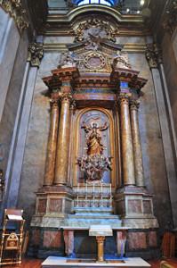 Basílica Pontificia de San Miguel, Capilla de Nuestra Señora de la Asunción