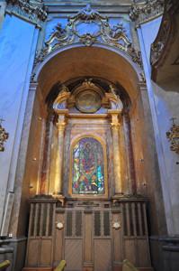 Basílica Pontificia de San Miguel, Capilla de confesionarios del lado de la Epístola