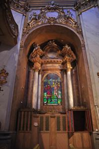 Basílica Pontificia de San Miguel, Capilla de confesionarios del lado del Evangelio