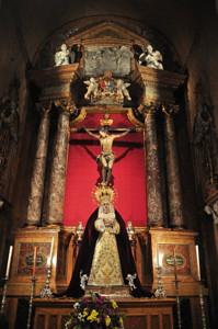 Basílica Pontificia de San Miguel, Capilla del Santísimo Cristo de la Fe y del Perdón y de Santa María Inmaculada Madre de la Iglesia