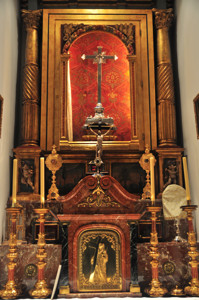 Basílica Pontificia de San Miguel, Capilla de Reliquias