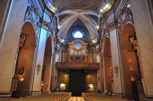 Basílica Pontificia de San Miguel, Coro y órgano