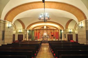 Basílica Pontificia de San Miguel, Cripta