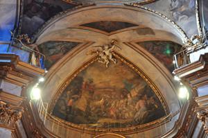 Basílica Pontificia de San Miguel, Cúpula de la Capilla Mayor