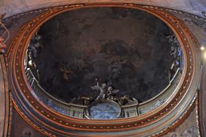 Basílica Pontificia de San Miguel, cúpula del crucero