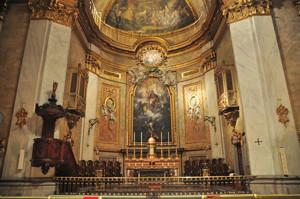 Basílica Pontificia de San Miguel, Capilla Mayor