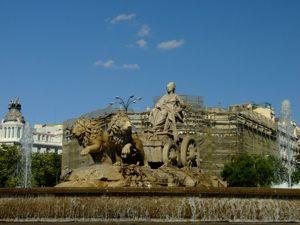 Madrid, Fuente de Cibeles
