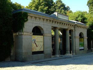 Madrid, Real Jardín Botánico, Puerta de Murillo